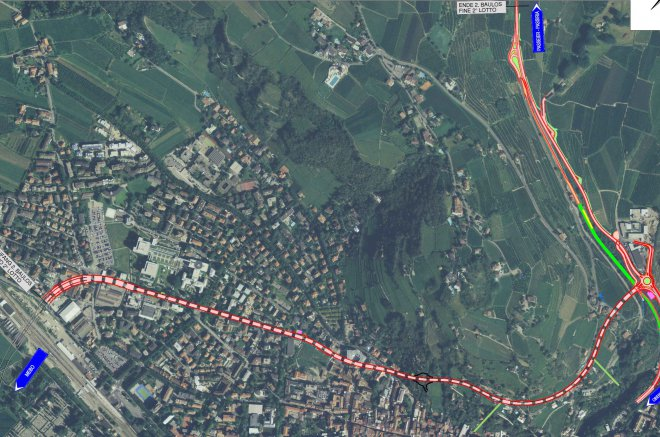 Merano North-West Bypass