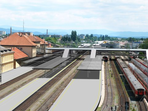 Train station offensive – Reconstruction of the main train station