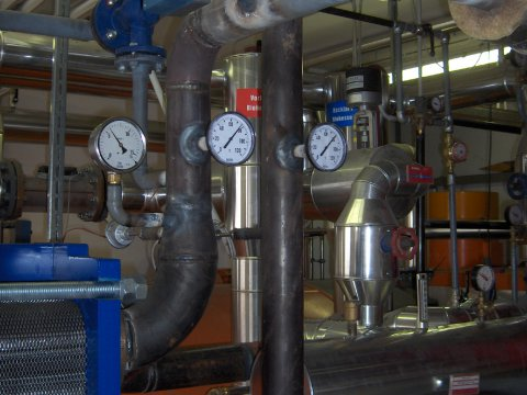 District heating plant