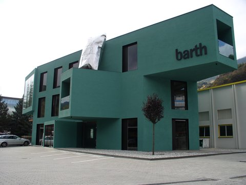 Administrative building for Fa. Barth Innenausbau