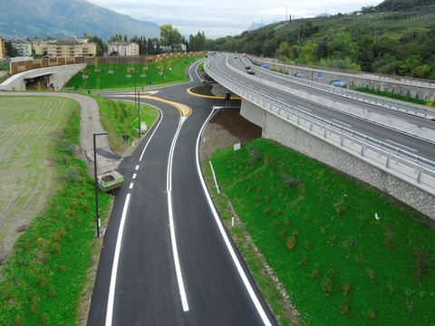 Nord-West bypass for Meran / Merano, construction stage 1