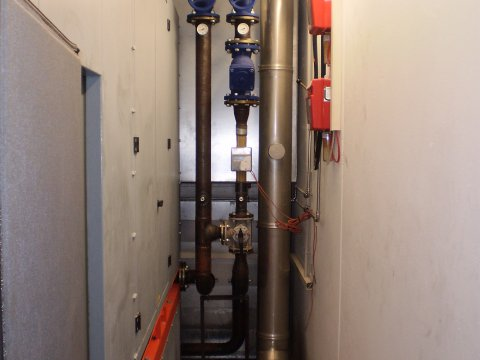 Modular cogeneration plant for the Hotel Rainer