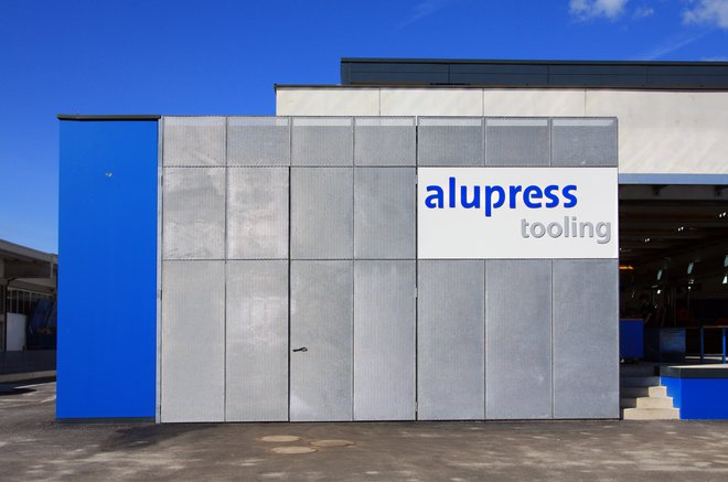 New construction for Alupress Tooling