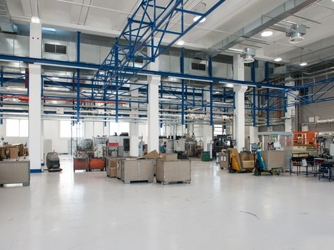 Processing facility of the Alupress company
