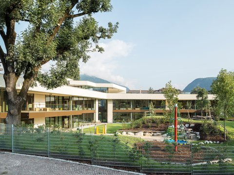 New construction of kindergartens in the Hermann-Delago-Strasse